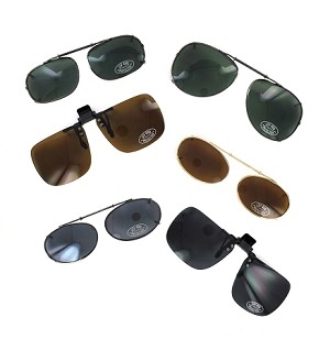 Assorted Clip-On Sunglasses